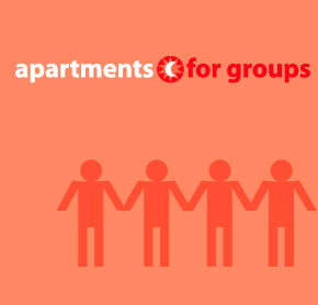 Apartments for group